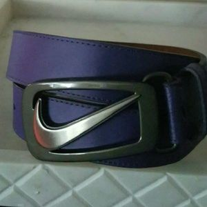 Nike Grip Tech Belt - Purple - 34 in
